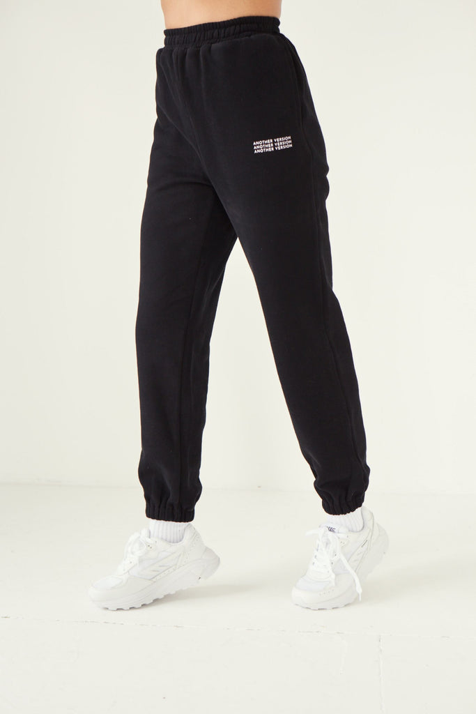 Premium Cotton Jogger - Black Joggers