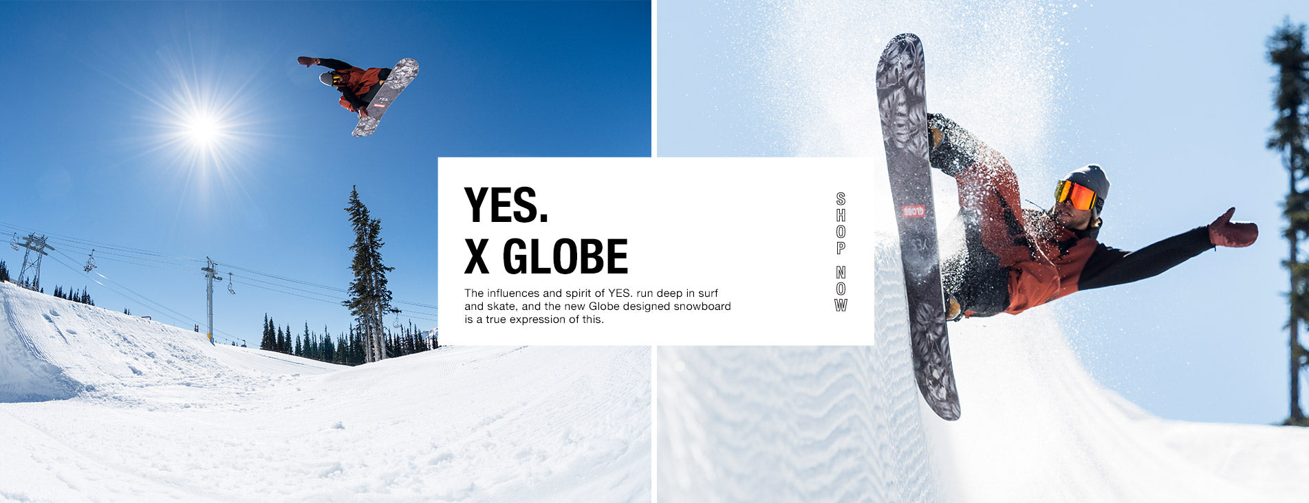 Yes. x Globe Not So Basic Snowboard