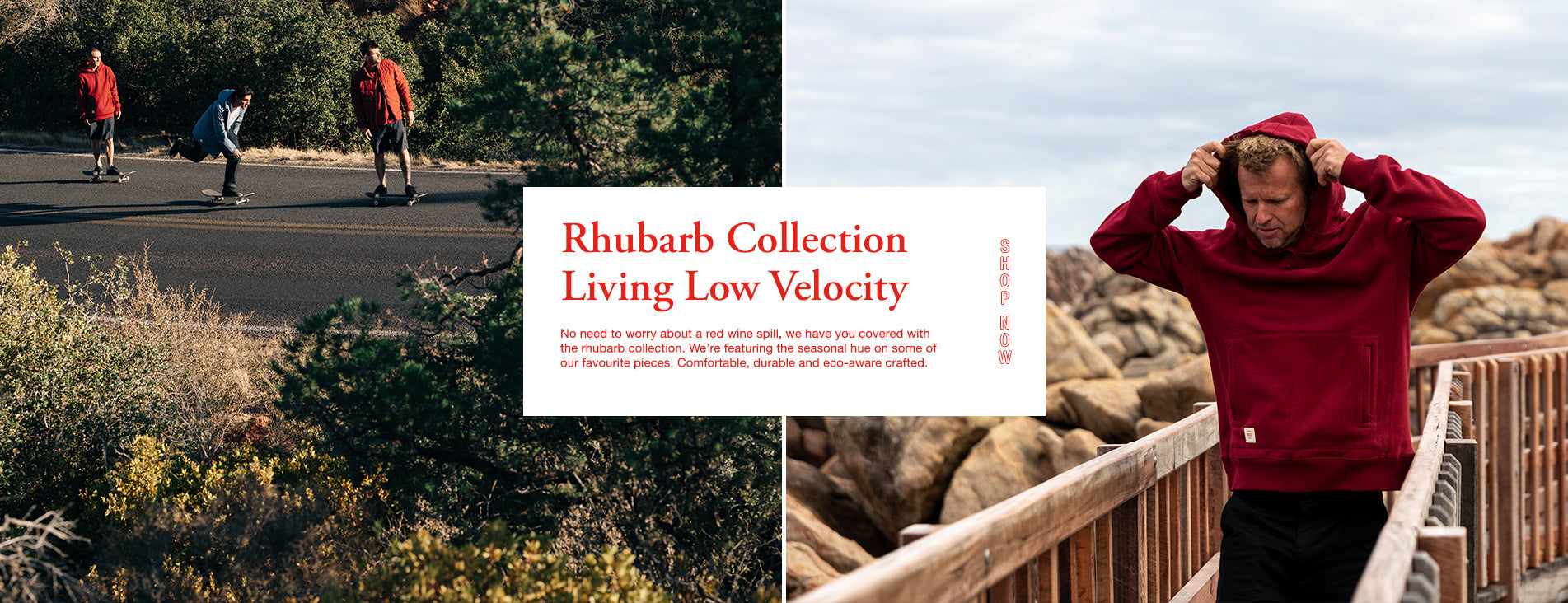 Globe Apparel 2021 Introducing The Rhubarb Collection Living Low Velocity