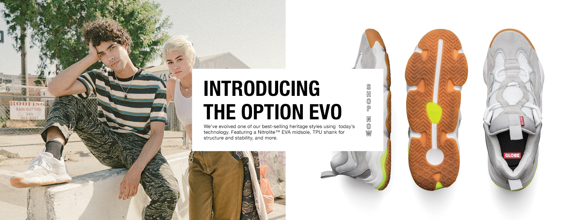 Introducing the Option Evo