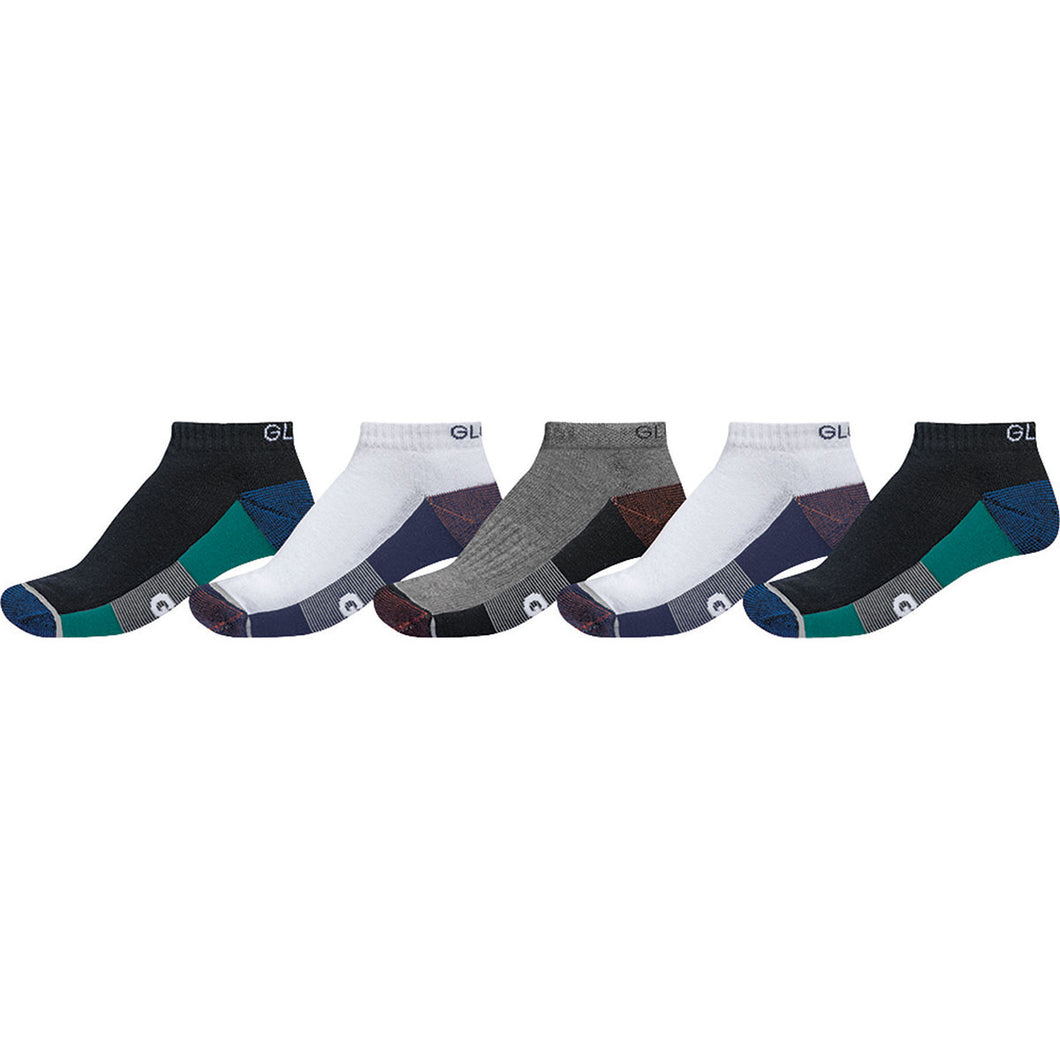 Evan Ankle Sport Sock 5 Pack