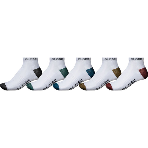 Ingles Ankle Sock 5 Pack, Socks Globe Brand Australia