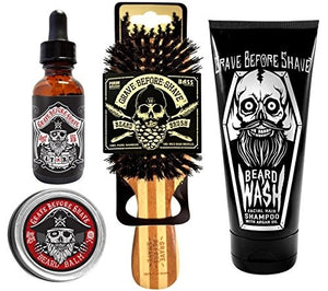 Grave Before Shave Beard Care Pack - TheBeardWarehouse