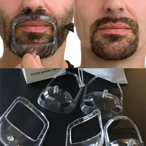 5 Pcs set Fashion Goatee Shaping Template Beard Shaving Styling Tool - TheBeardWarehouse