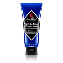 Jack Black Supreme Cream Triple Cushion Shave Lather, 3 fl.oz. - TheBeardWarehouse