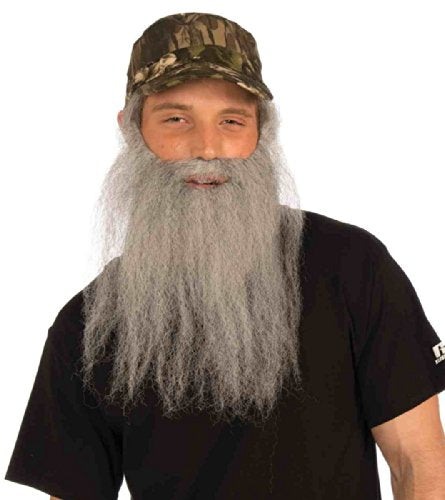 Hunter Beard and Hat Adult Costume Set - TheBeardWarehouse