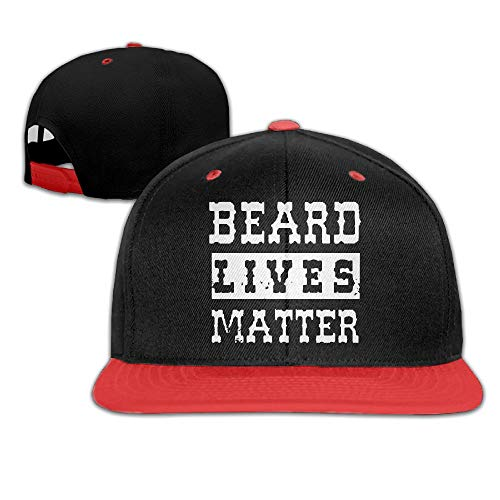 Hip-hop Hats Beard Lives Matter Adjustable Snapback Hat - TheBeardWarehouse