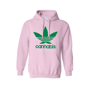 "Men's/Unisex Pullover Hoodie ""CANNABIS"" - TheBeardWarehouse"