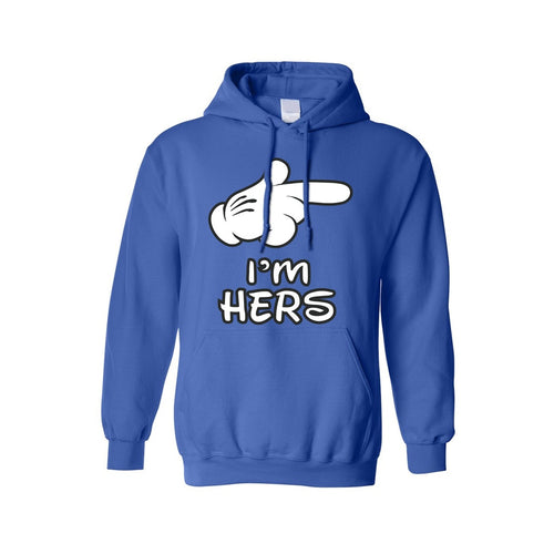 Men's/Unisex Pullover Hoodie Don't Even Think About It!
