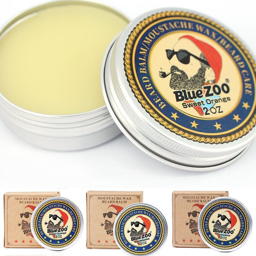 Organic Conditioner Cream Beard Balm Sweet Orange/Sandalwood/Eucalyptus - TheBeardWarehouse