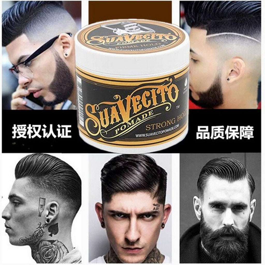 Retro Hair Pomade Strong Style Restoring Pomade Hair Wax - TheBeardWarehouse
