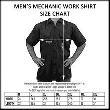 "Biker Mechanic Work Shirt ""Men's Riding Club American Legends"" - TheBeardWarehouse"
