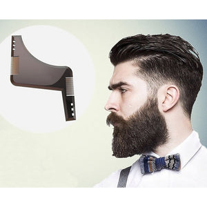 Razor Comb Beard Cutting Comb Beard Beard L Shaped Trimmed Comb Modelling Tools - TheBeardWarehouse