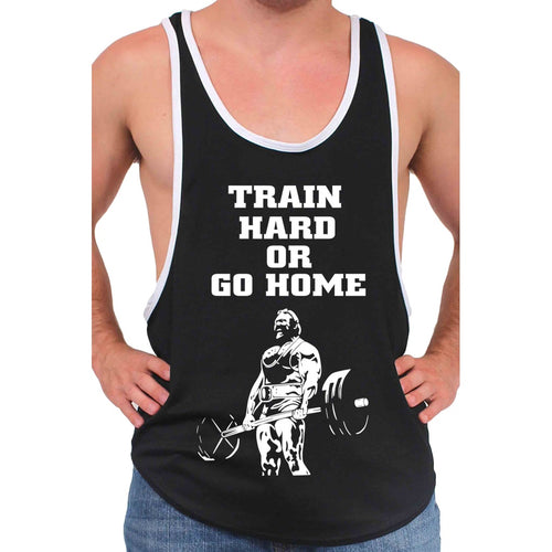 Men's Dri Fit Train Hard or Go Home Tank Top - TheBeardWarehouse