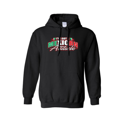 Unisex I've Got A Mexican Attitude Pullover HOODIE - TheBeardWarehouse