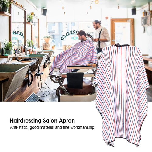 Salon Apron Hairdressing Gown Waterproof Cloth Hair Cutting Hair Dyeing Cape - TheBeardWarehouse