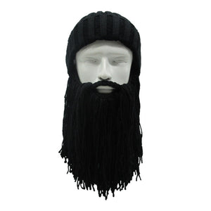 Outdoor Windproof Winter Warm Beard Hats Funny Cap - TheBeardWarehouse