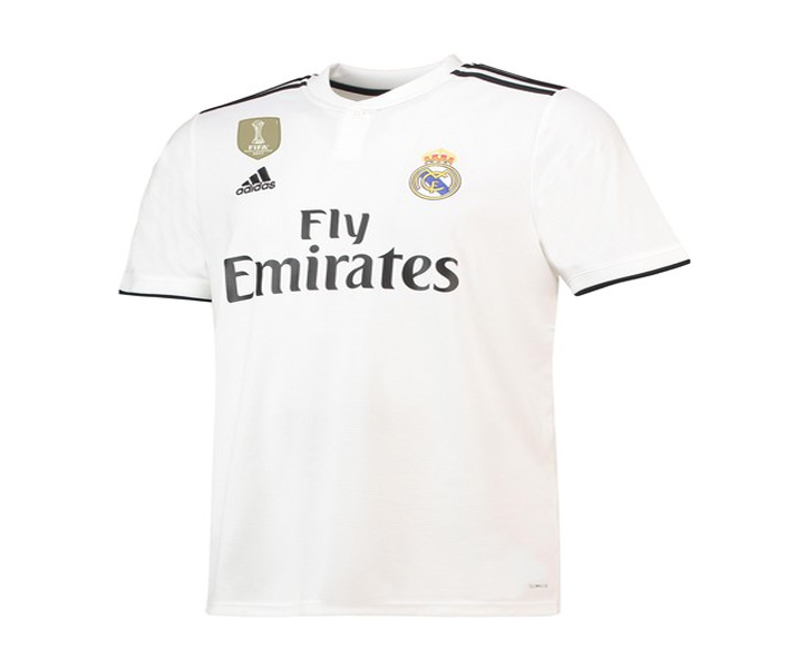 c20df88d0 REAL MADRID HOME SHIRT 2018 2019