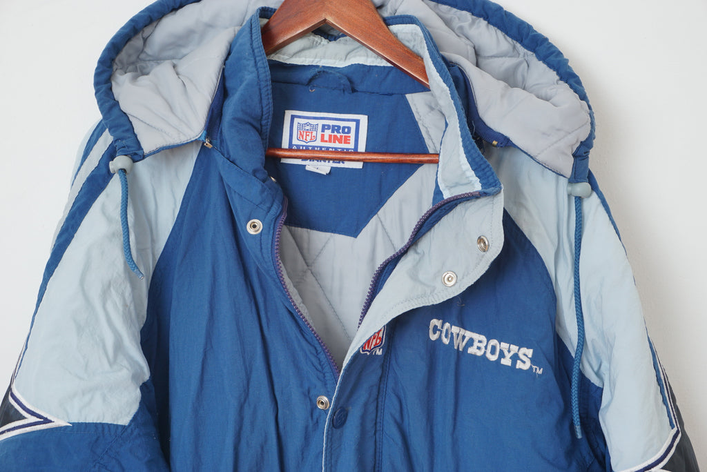brand new a8ee5 daef4 Starter Dallas Cowboys Proline Mans L Quilted Jacket ...