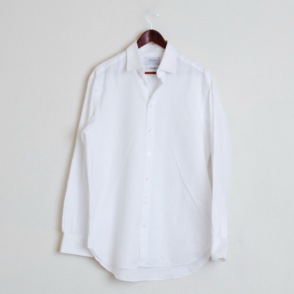 e2e70b1e Charles Tyrwhitt Casual Shirt Mens White Long Sleeve Cotton XL #863