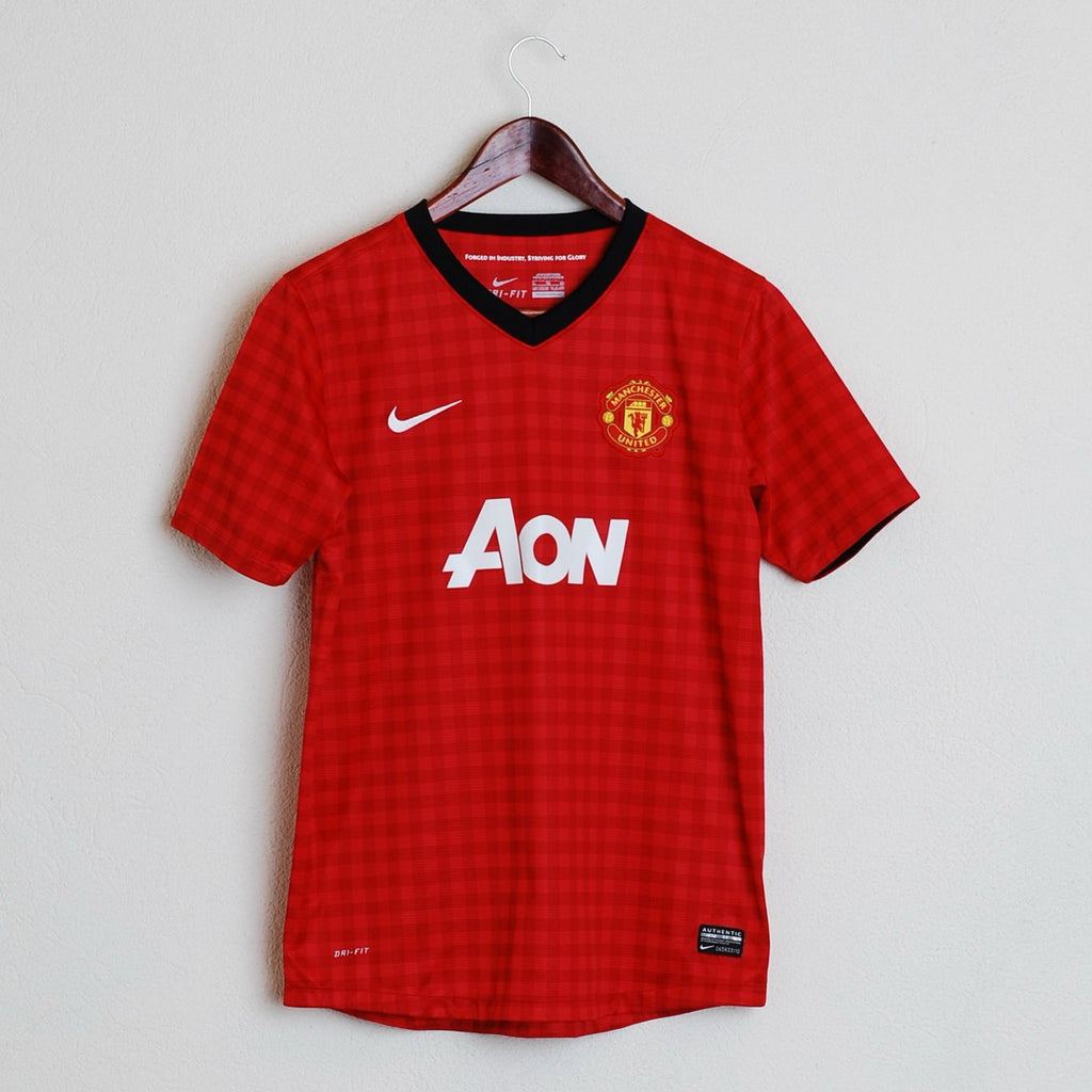761bec72393ad Nike Manchester United Mans XS or Youth XL Football Shirt Red Devils #9 ...