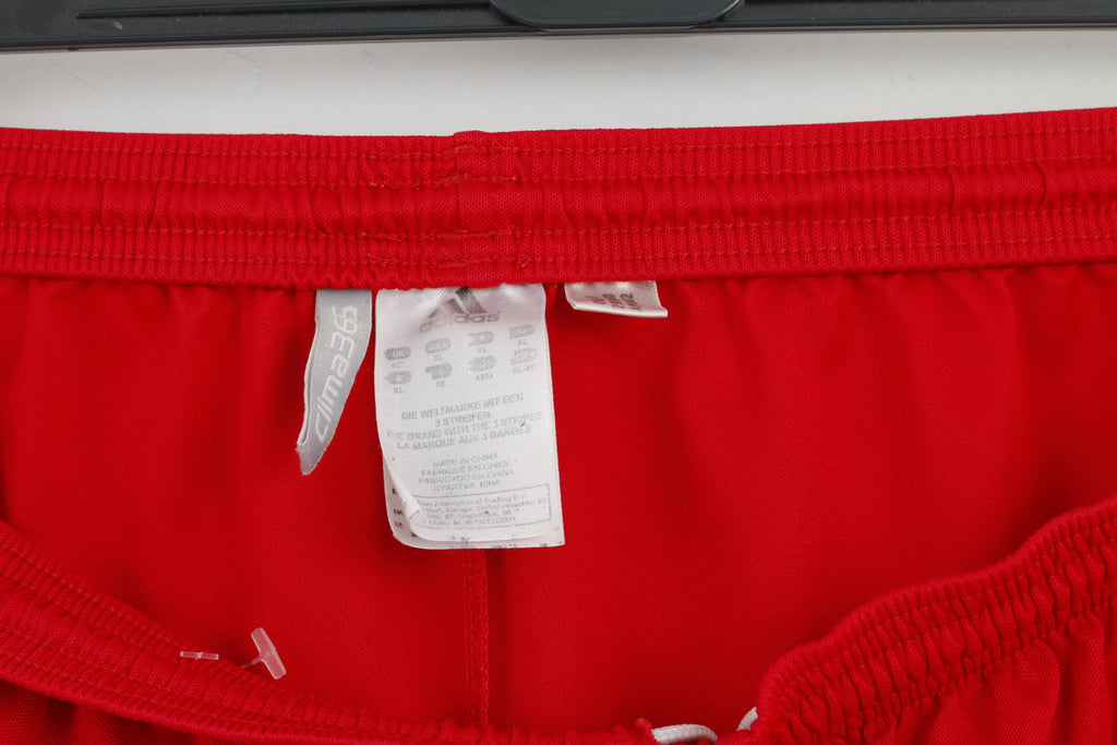 Adidas Men XL Sport Shorts Clima365 Polyester Red M2751