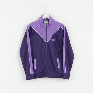 Everlast Women 12 M NEW Tracksuit Jacket Blouse Zip Purple M3002