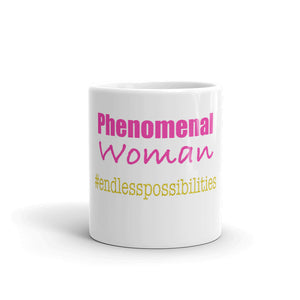 Phenomenal Woman Endless Possibilities Mug