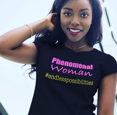 Phenomenal Woman #Endless Possibilities Short-Sleeve Unisex T-Shirt
