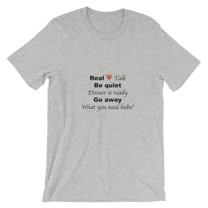 Real Love Talk II Short-Sleeve Unisex T-Shirt