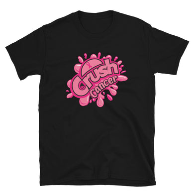 Crush Cancer Short-Sleeve Unisex T-Shirt