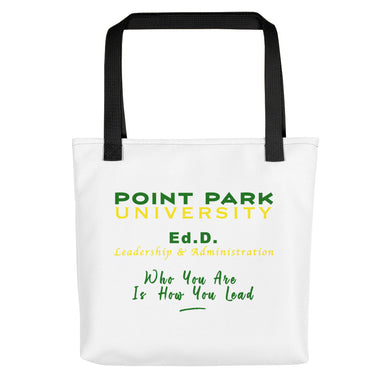 Point Park Ed.D Tote bag