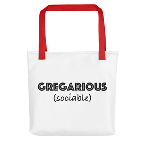 Gregarious Tote bag