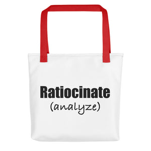 Ratiocinate (SAT Prep!) Tote bag
