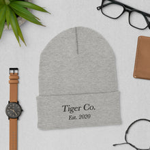 Tiger Co Est 2020 Cuffed Beanie