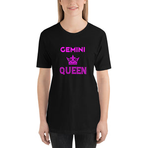 Gemini Queen Short-Sleeve Unisex T-Shirt