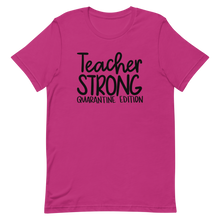 Teacher Strong Quarantine Edition Short-Sleeve Unisex T-Shirt