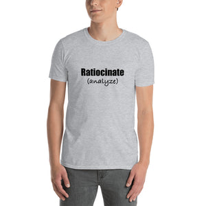 Ratiocinate (SAT Prep!) Short-Sleeve Unisex T-Shirt