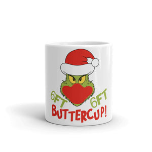 6 Feet Buttercup Christmas Mug