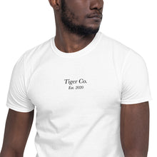 Tiger Co Est 2020 Short-Sleeve Unisex T-Shirt