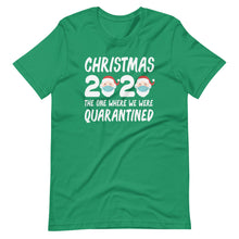 Christmas 2020 The One Where We Were Quarantined Short-Sleeve Unisex T-Shirt