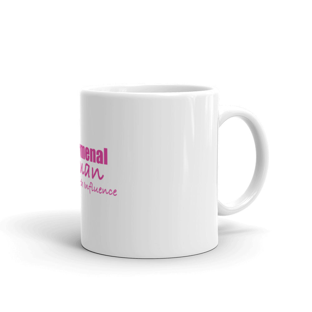 Phenomenal Woman Leading With Influence Mug
