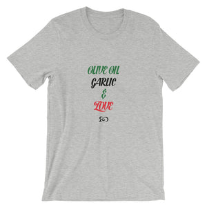 Olive Oil Short-Sleeve Unisex T-Shirt