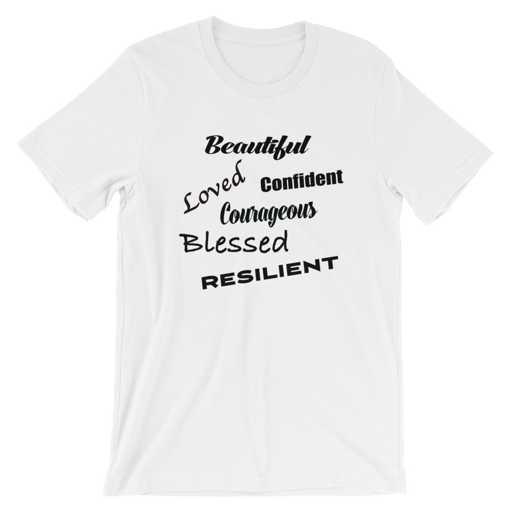 Beautiful & Loved Short-Sleeve Unisex T-Shirt