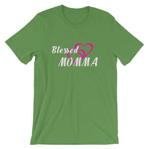Blessed Momma Short-Sleeve Unisex T-Shirt