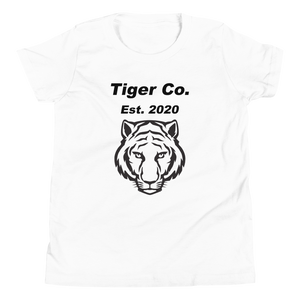 Tiger Co Est 2020 Youth Short Sleeve T-Shirt