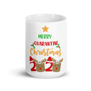 Merry Quarantine Christmas Mug