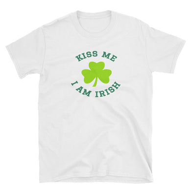 Kiss Me I Am Irish Short-Sleeve Unisex T-Shirt