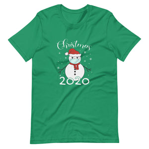 Snow Man Christmas 2020 Short-Sleeve Unisex T-Shirt