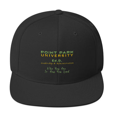 Point Park Ed.D Snapback Hat